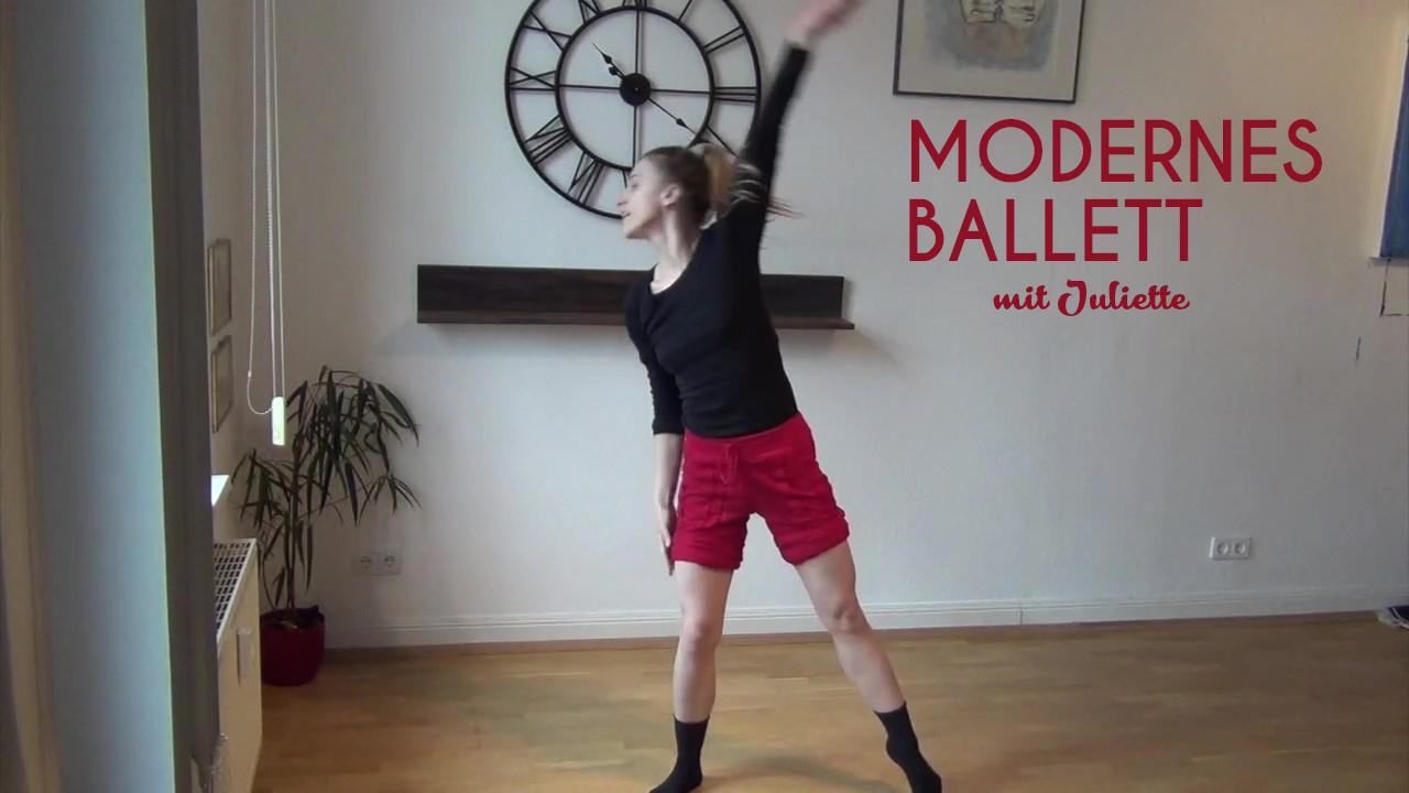 Modernes-Ballet-schrift
