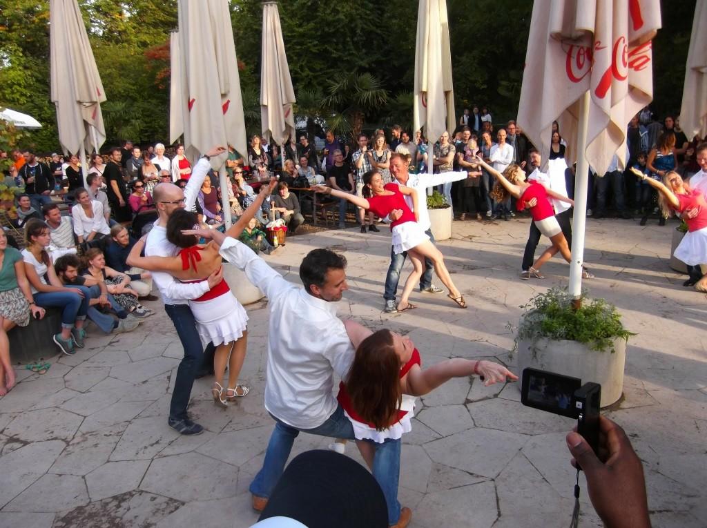 Salsa Rueda Leipzig mit Baileo