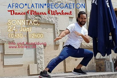 Dance Fitness Workout Afro-Latin-Reggaeton
