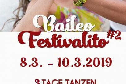 Festivalito #2 – Tanzwochenende vom 8.-10. März 2019