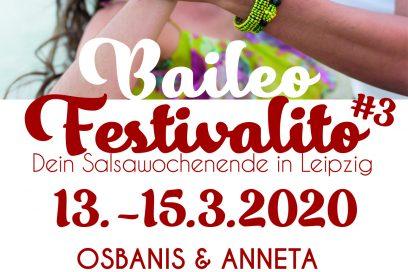 Festivalito 3 – Dein Salsawochenende in Leipzig