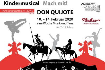 "Ferienkurs Kindermusical ""Don Quijote"""
