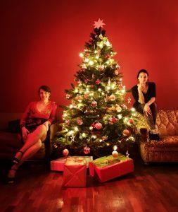 weihnachtsbaum in salsaschule