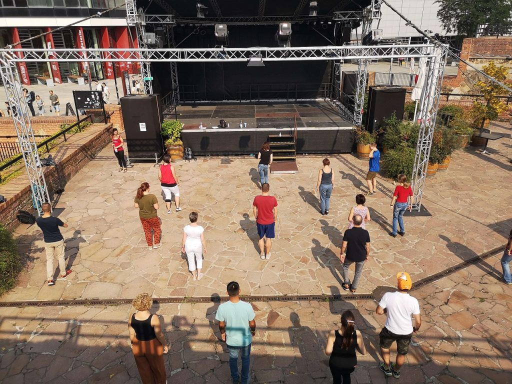 Tanzkurs an der Moritzbastei Leipzig